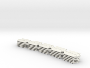 Proto32n20 45 Foot Radius Spiking Guide Set Of 5 in White Natural Versatile Plastic