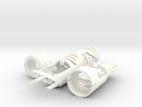 MM C V2 in White Strong & Flexible Polished