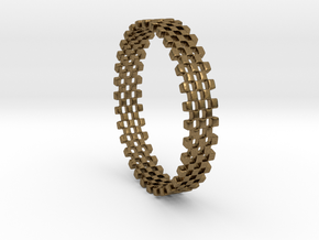 Continum Ring (Size-9) in Natural Bronze: 9 / 59