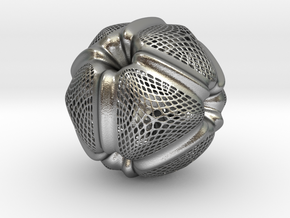 PollenBall01 in Natural Silver