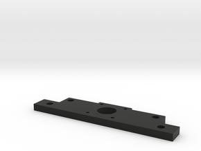 Flat Bracket in Black Natural Versatile Plastic