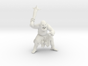 Troll in White Natural Versatile Plastic