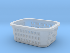 1:48 Laundry Basket in Smooth Fine Detail Plastic