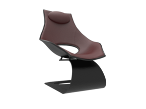 1:24 Dream Chair - Tadao Ando in White Strong & Flexible