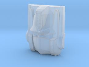 Optimus Prime Face, Sunbow (Titans Return) in Smooth Fine Detail Plastic
