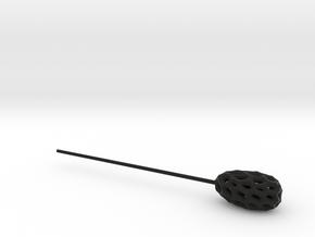 Mobius in Black Natural Versatile Plastic