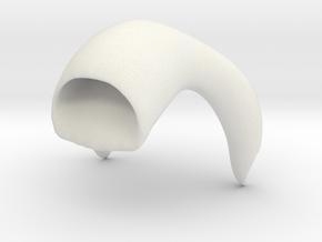 Kneeshirt in White Natural Versatile Plastic