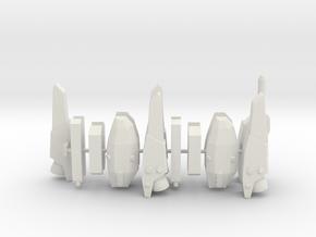 Strike/Super Parts 1/285 scale in White Natural Versatile Plastic