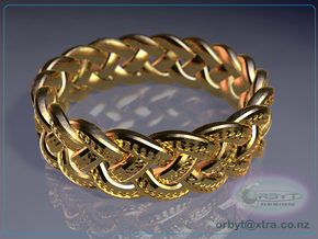 Celtic Knot Ring 2 - US Size 14 in 14K Yellow Gold
