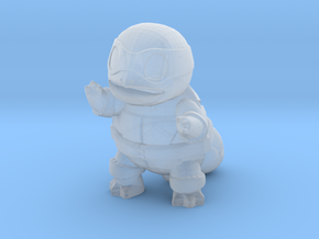 Ninja Squirtle, Mikey in Smooth Fine Detail Plastic