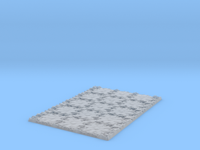Tile Bår Construction in Smooth Fine Detail Plastic