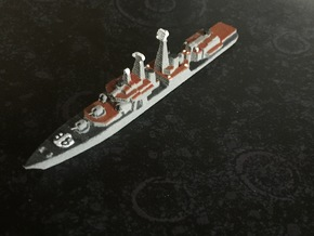 Udaloy I-class destroyer, 1/1800 in White Natural Versatile Plastic