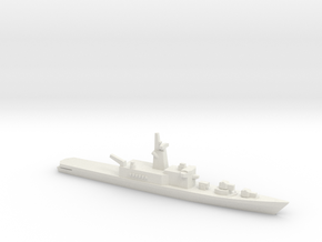 Haruna-class DDH (1973), 1/3000 in White Natural Versatile Plastic
