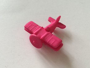 Jackal Fighter Plane in Pink Processed Versatile Plastic