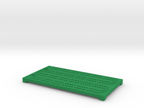 Cribbage Board - Small in Green Processed Versatile Plastic