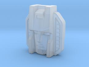 Thundercracker Face, Sunbow (Titans Return) in Smooth Fine Detail Plastic