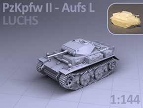 PzKpfw II ausf L - LUCHS in Smooth Fine Detail Plastic