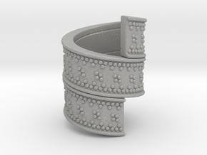 Beard Ring in Aluminum