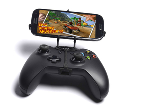 Xbox One controller & Huawei P9 lite - Front Rider in Black Natural Versatile Plastic