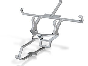 Controller mount for Steam & alcatel Pixi 4 (4) -  in White Natural Versatile Plastic