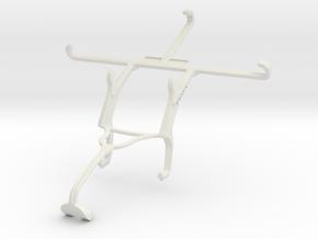 Controller mount for Xbox 360 & Panasonic Eluga Tu in White Natural Versatile Plastic