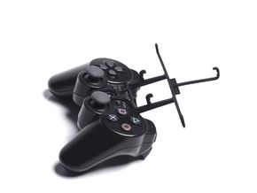 PS3 controller & Yezz Andy 5.5M LTE VR in Black Strong & Flexible