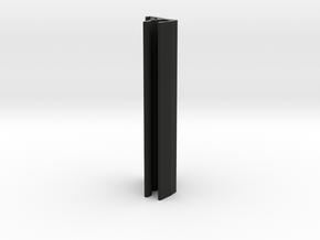 LightBoard 10mm LED Bracket in Black Natural Versatile Plastic