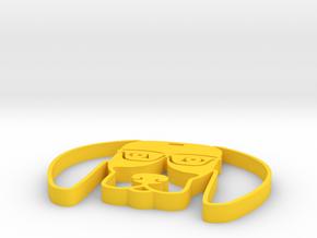 Beagle in Yellow Processed Versatile Plastic