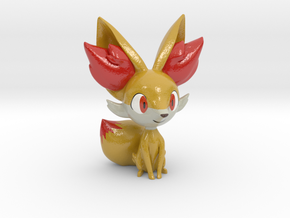 Fennekin in Coated Full Color Sandstone