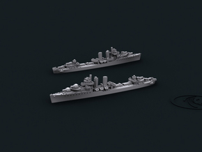 1/2400 US DD Farragut [1944] (x4) in Smooth Fine Detail Plastic