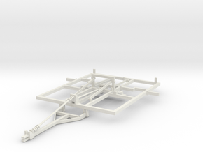 1/64 Weatherproofer Frame 7 Shank main frame in White Strong & Flexible