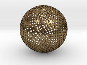 Designer Sphere in Natural Bronze