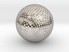 Designer Sphere in Platinum