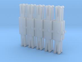10 Barres d'attelage Jouef Dev A0  in Smooth Fine Detail Plastic