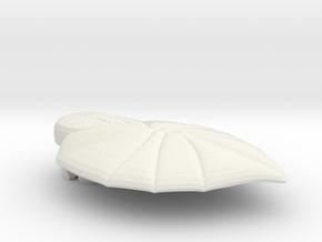 FLEURISSANT - Leaf #4 in White Natural Versatile Plastic