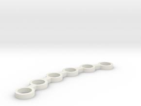 FLEURISSANT - Frame #3 in White Natural Versatile Plastic