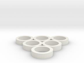 FLEURISSANT - Frame #2 in White Natural Versatile Plastic
