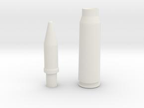 20x102 Vulcan version II (Container) in White Natural Versatile Plastic
