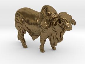 1/64 Brahma Bull in Natural Bronze