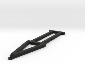 Slot car trailer chassis   in Black Natural Versatile Plastic