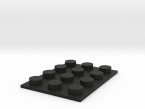 Customblock R1 20130312-15463-675u2y-0 in Black Natural Versatile Plastic