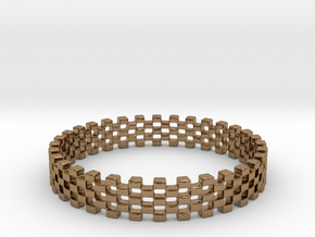 Continum Ring (Size-11) in Natural Brass: 11 / 64