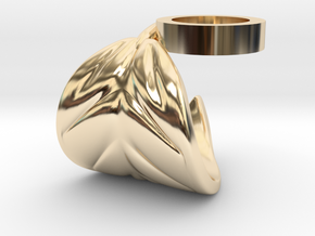 FLEURISSANT - Leaf ring #2 in 14K Yellow Gold