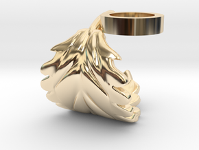 FLEURISSANT - Leaf ring #1 in 14K Yellow Gold
