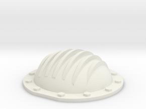 69 Camaro rear cover w/ribs 1/12 in White Natural Versatile Plastic