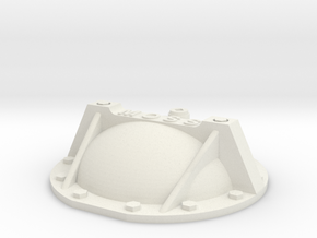 69 Camaro rear cover braced w bolts 1/12 in White Strong & Flexible: 1:12