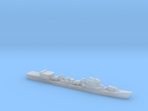 Type 051D Destroyer w/ Helo Hanger, 1/3000 in Smooth Fine Detail Plastic