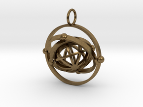 Event 2 in Natural Bronze (Interlocking Parts)