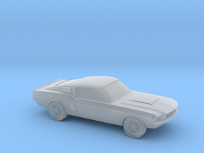 1/87 1966 Ford Mustang  in Smooth Fine Detail Plastic
