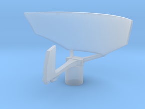 1/96 Scale SPS-12 Radar in Smooth Fine Detail Plastic